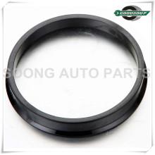 Schwarz Universal Aluminium / Kunststoff Radnabe zentrische Ringe
