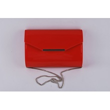 Ladies Simple Fashion Chain Crossbody Bag in Shinny PU Material (LY16002)