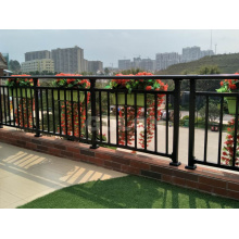 Powder Coated Wrought Iron/Aluminum Square Tube Rail