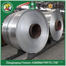 Feuille de papier d'aluminium sur rouleau unique