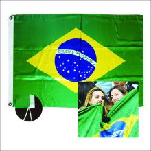 Vente chaude tous les drapeaux nationaux de polyester de pays