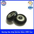 Rolamento de roda revestido plástico personalizado da polia do rolamento para a mobília