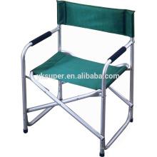 Оптовый 2015 дешевый 600D полиэстер алюминиевый холст директор складной стул для продажи