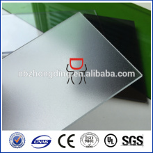 8mm thick transparent frosted polycarbonate sheet