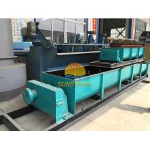 Mezclador de eje doble / mezcladora horizontal de la paleta para la producción de briquetas de carbón