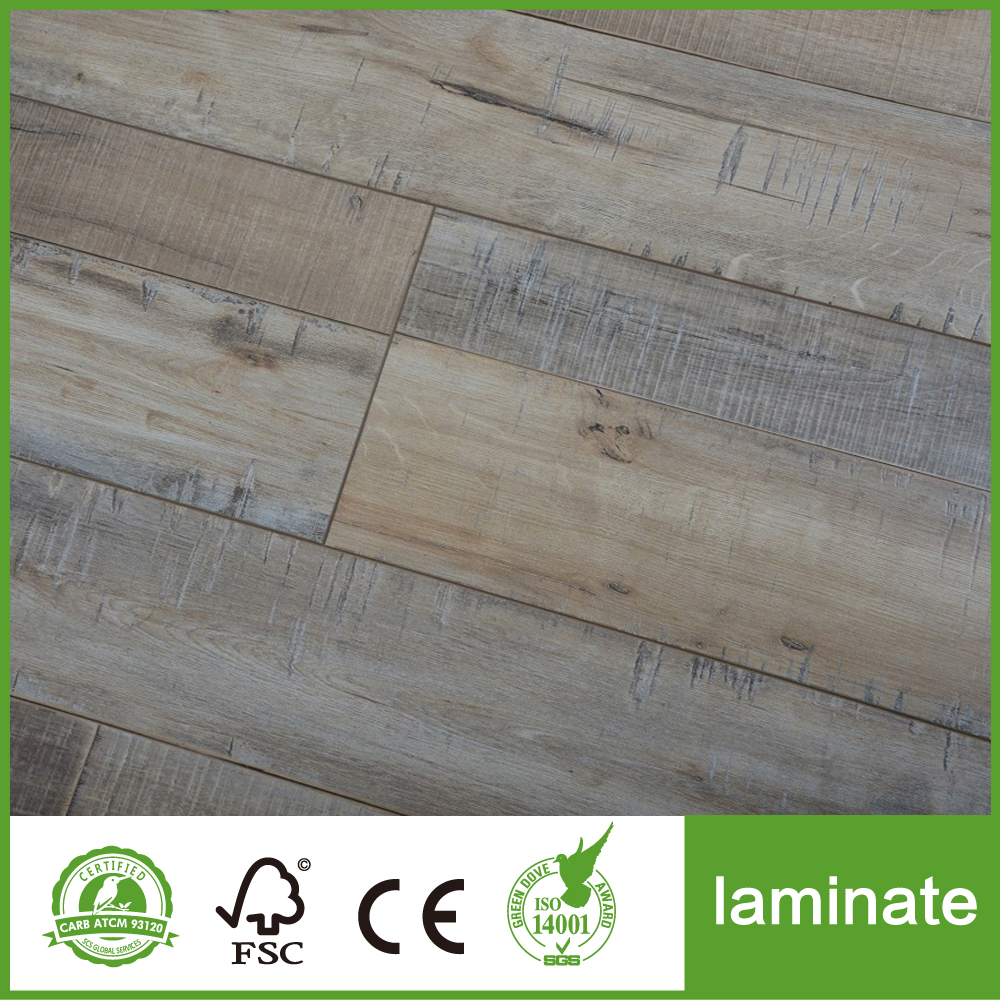 Grey Laminate Flooring 12mm