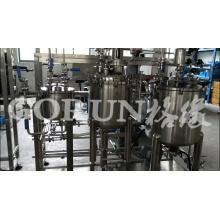 Cosmetic/Water Tank Oil Tank High Shear Vacuum Emulsification Tank Set