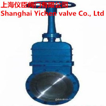Non-Rising Stem Manual Knife Gate Valve