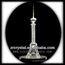 Wunderbares Kristallgebäude Modell H039