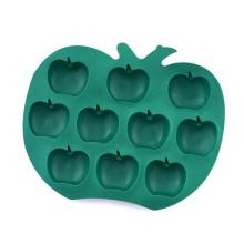 Cubo de hielo al por mayor del silicio de la fruta de Eo-Friendly en forma de fruta al por mayor
