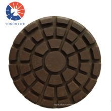 "Factory Supply 5~10"" Edge Diamond Hybrid Ceramic Transitional Concrete Floor Polishing Pads"