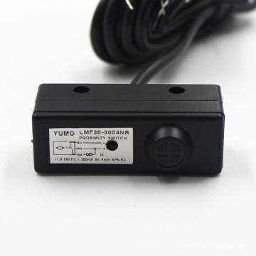 Lmf30-3004nb Capteur de proximité inductif de forme carrée NPN Nc