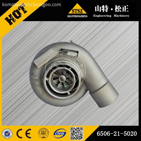 Pc450 8 Turbocharger 6506 21 5020