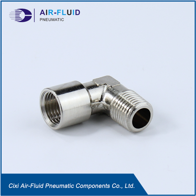Equal Elbow Metric/BSPT Male x Metric/BSPP Female Thread Brass Fittings