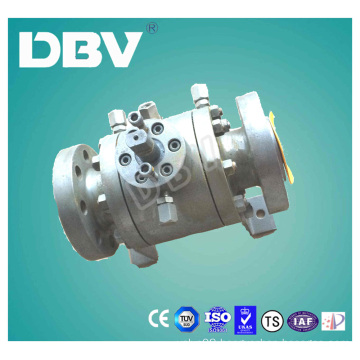 Fire-Proof Carbon Steel A105 Ball Valve with Locking Device