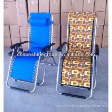 Chaise occasionnelle pour sitz et décubitus pliante
