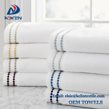 free sample 100% Cotton Hotel Embroidered face Towel hotel Bath towels