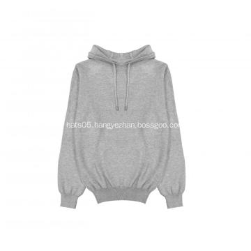 Men's Knitted Honey Comb Pullover Hoodie