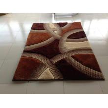 Home Textile Stretch Seide Shaggy Teppiche und Teppiche