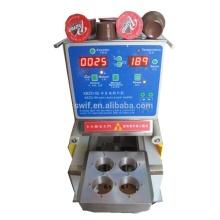 Petite machine de remplissage et de scellage de capsules de café semi-automatique