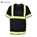 2018 safty new stylish black safety shirts