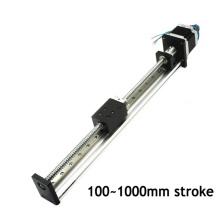 Actuadores profesionales de movimiento lineal de 40 mm de ancho con motor paso a paso nema 23