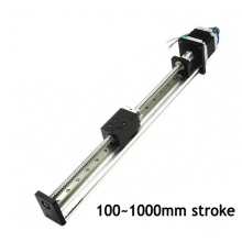 Professional service 40mm width linear motion actuators with nema 23 stepper motor