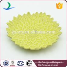 Placa decorativa de cerámica verde al por mayor