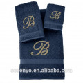 Toalla 100% turca del telar jacquar del algodón con el logotipo, selección multi color HTS-136 al por mayor