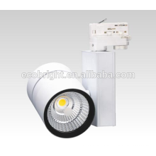 50w hot sale factory price led cob track light super brightness gallery led track lighting