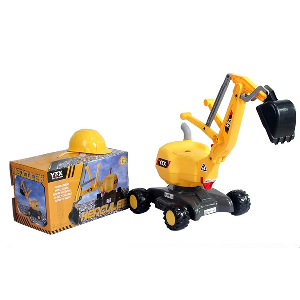 Electric kid ride Excavator
