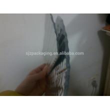 Un film à bulle d'air à une seule couche pour garder les matériaux chauds