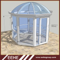 Aluminum Sun Roof Glazed Triangle Sun Room Victorian Glass Winter Garden House