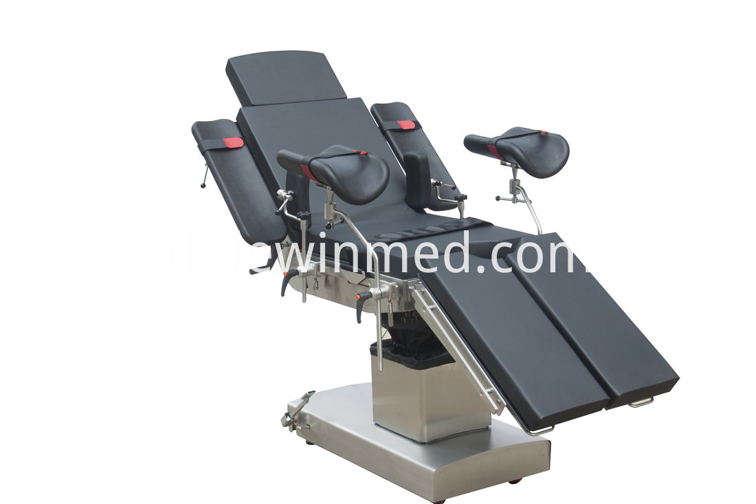 Electric medical operating table