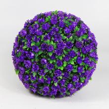 Nuevos productos tierra amigable topiary bolas artificiales en macetas para balcón