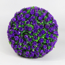 New products earth friendly artificial topiary balls in pots for balcony