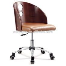 Silla moderna del restaurante de la madera de la curva / silla de comedor / silla del ocio