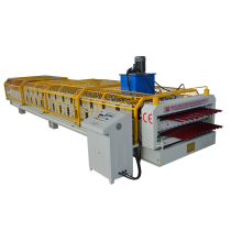 Bergelombang Double Layer Roll Forming Machine