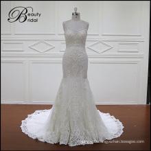 Sweetheart Neckline Lace Mermaid New Wedding Dress (2016)