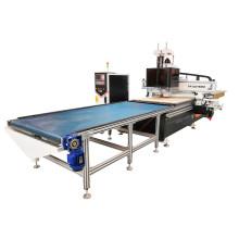 Küchenschrank-Tür-Verschachtelung CNC-Fräserladenentladung