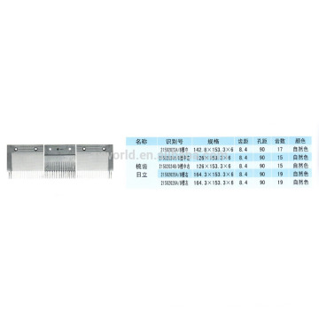Hitachi escorregador travolator pente 21502023A / 21502024A / 21502024B / 21502025A / 21502026A / B