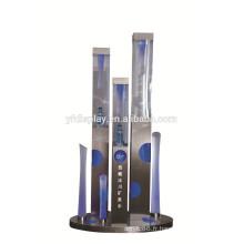 métal et le personnalisé de haute qualité au détail alcool bouteille acrylique stand présentoirs