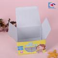 caixas de papel de empacotamento do macarronete chinês feito sob encomenda com janela