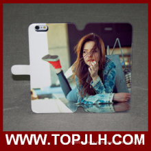 Werk groß-Preis für das iPhone 6 Plus Leder Flip Case