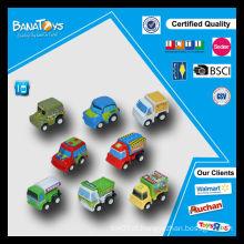 Melhor presente para meninos puxar para trás brinquedos carro brinquedos miúdos desenhos animados