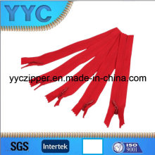 No. 5 Invisible Nylon Zipper O/E Zipper for Garment