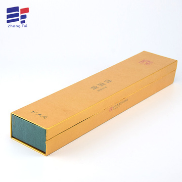 Cheap price for Craft Paper Gift Box Book style paper gift box for packaging candle supply to Russian Federation Importers