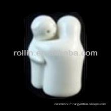 Produits en porcelaine blanche chinoise de bonne qualité