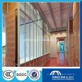 12 mm 15 mm 19 mm Transparente teñido curvo vidrio templado curvado para muro cortina