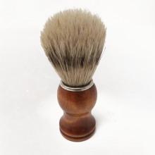 Wood Handle shaving brush Bristle beard brush man facial brush